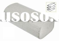 Natural White Recycled Folded Towel Paper With Top Quality & Low Price