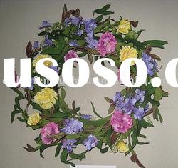 New style Decorative Flowers Wreaths for easter