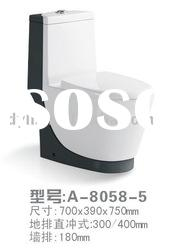 One-piece Colorful Ceramic Toilet A-8058-5