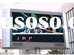 P20 fulll color 6000cd/sqm outdoor led display board