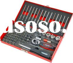 PROFESSION TOOLS-74PC 1/4 INCH DRIVE SOCKET AND BIT SET