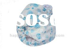 Pattern Minky baby cloth diaper,Happy flute,New style