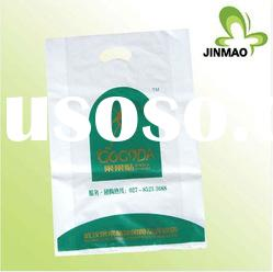 Plastic packaging with handle