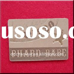 Printed Leather Label For Garment