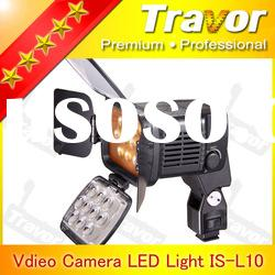 Professional With 10pcs LED VL001B(LED-1800) led light panel video digital camera accessories