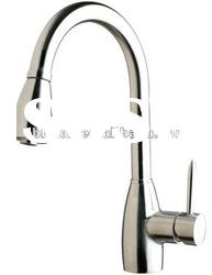 Pull out stainless steel faucet /stainless steel kitchen faucet mixer