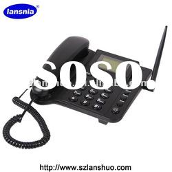 QUAD BAND 850/900/1800/1900MHz SIM CARD GSM FIXED WIRELESS DESKTOP PHONE FWP