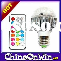 Remote Control Color Changing Led Bulb
