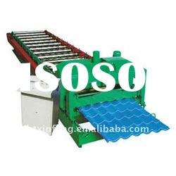 Roof Tile Roll Forming Machine-ceiling making equipment