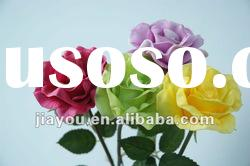 Rose-PU Simulation/Artificial Flowers/Plastic Flowers Decorative Flowers