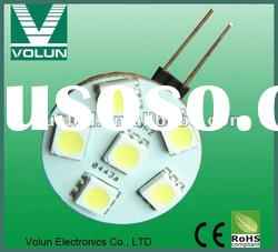 SMD 3528/5050LED G4/MR11 energy saving light,g4 24v led bulbs,g4 12v 1.5w led bulb,led g4 light