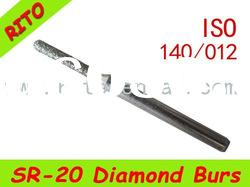 SR-20 Round End Taper Diamond Burs,Good Quality Dental Diamond Burs - Rito Dental Quality Products