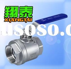 Stainless Steel 2pc Ball Valve Locking, Female Thread, Full Bore,SS304 SS316