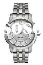 T-SPORT T014.410.11.037.00 MENS WATCH Silver Dial Water Resistant Stainless steel
