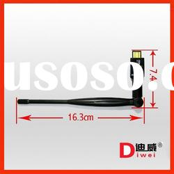 USB Wireless Lan 802.11N with SMA Antenna 1T1R 150Mbps