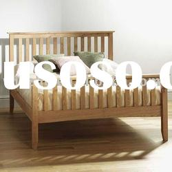 W-B-0025 pine wood queen size bed
