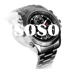 Waterproof Camera Watch with Motion Detection watch dvr 640*480 25fps 4/8GB