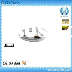 White hdmi male to DVI 24+1 male cable