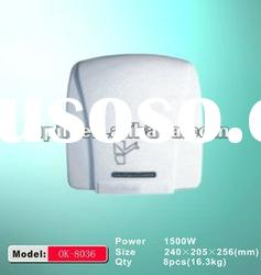 White,high speed OK-8036/electric automatic hand dryer