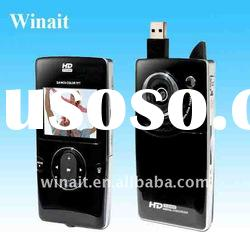 Winait's HD 720P flip digital video camera with USB Interface and 1.3MP CMOS
