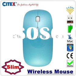 Wireless optical mouse with usb receiver hidden