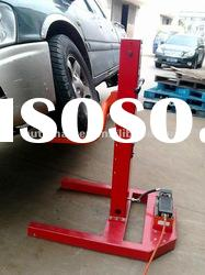 (LT0209-3000A) Portable Single Post Car Lift, Movable Car Lift