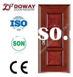 (real photo) High Quality Special Exterior Steel Security Door