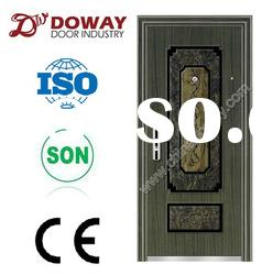 (real photo) High Quality Steel Security one & a half Door