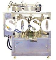 bag filling and sealing machine for liquid