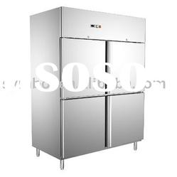 commercial stainless steel kitchen refrigerator