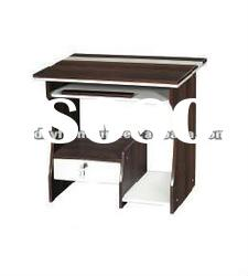 concise wooden computer desk with drawer CD705