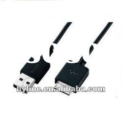 data transfer cable, USB Data Charger Cable for sony Walkman MP3 products