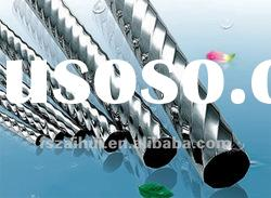 decoration welded corrugated stainless steel pipes and tubes in grade 201 304 316 430 202 304L 316L