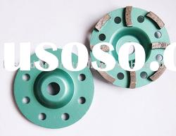 diamond grinding cup wheel -single row