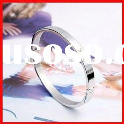 fashion stainless steel indian crystal bangles