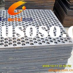 galvanized punching hole wire mesh/Perforated metal sheets & plates