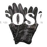 handsome men's leather fashion gloves
