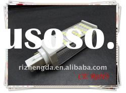 high power smd5050 g24 energy saving lamp(13w 6400k)