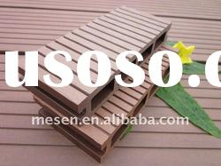 high standard waterproof wood plastic composite outdoor decking/floor