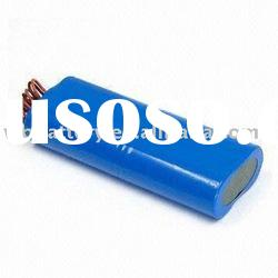 lithium battery pack for led flashlight