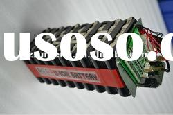 lithium polymer electric scooter battery 24v 7ah