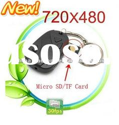 mini video car key camera car key DVR808 External Memory 1GB-16GB
