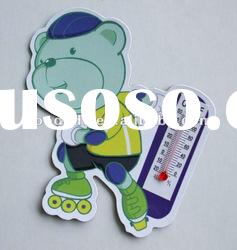 new products for 2012 hot sale thermometer fridge magnet for promotional gift