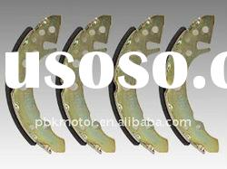 non-asbestos brake shoe S497 same with OE quality
