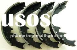 non-asbestos brake shoe s581 same with OE quality