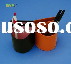 paper pen holder with several dividers for stationery packing