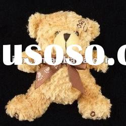 promotional gift soft plush animal and teddy bear doll for christmas series toy wedding gift for boy