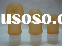 silicone refill bottle for shampoo for cosmetic /dog shampoo bottle/mosquito refill bottle