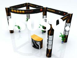 trade show spiral tower portable booth