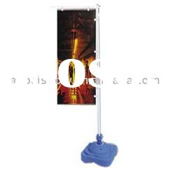 water filled flag pole & advertising flag pole & white flag pole
